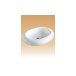 White Art Basin - Arosio - 570x460x160 mm