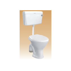 White PVC Cistern With Fitting - Compy