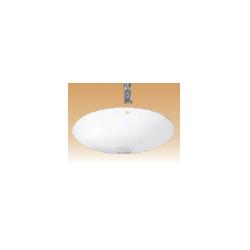 Ivory Counter Wash Basin - Contour