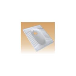 White Squatting Pans - Asian Pan 20