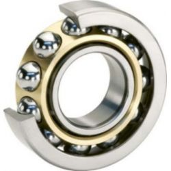NTN 7206BGC3 Angular Contact Ball Bearing, Inner Dia 30mm, Outer Dia 52mm, Width 16mm