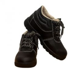 NAWAB 007 Safety Shoes, Size 8, Color Black, Weight 0.7kg