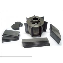 EK60 EK60-036 Carbon Vane Set for Vacuum Pump, Dimensions 33 x 16 x 35mm