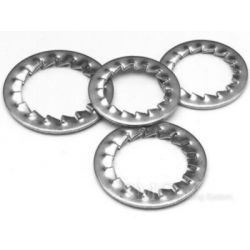 NTN AN00 Lock Washer, Inner Dia 13.5mm, Outer Dia 18mm, Width 4mm