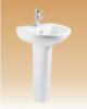 White Pedestal Basin Series - Madonna - 600x415x850 mm