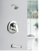 Single Lever Concelead Divertor with Pull Out For Spout & Overhead Shower (High Flow)