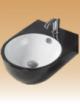 Black/White Art Basin Colored - Statice  - 375x480x155 mm
