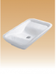 White Art Basin - Artizo - 695x405x115 mm