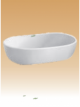 White Art Basin - Arcade - 590x400x145 mm
