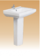Ivory Pedestal- Deek