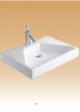 White Art Basin - Aria - 510x370x160 mm