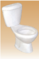 Ivory EWC + Cistern STrap - Broch