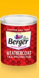 Berger A31 Weather Coat Tile Protektor, Capacity 0.9l, Color Base