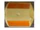 Kohinoor KE-RSY ABS Road Studs, Size 90 x 100 x 17mm, Color Yellow