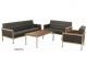Zeta Mistico Three Seater Sofa, Series Lounge