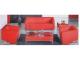 Zeta Picasso Three Seater Sofa, Series Lounge