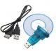 Moselissa USB RS-232 DB9 Male Serial Converter