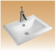 White Counter Basin - Marvel - 590x470x225 mm