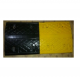 Kohinoor KE-50350SBR Rubber Speed Bump, Color Yellow Black, Lenght 500mm