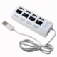 Moselissa USB 2.0 High Speed Hub 7Port with Switch