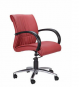 Zeta Low Back Chair, Mechanism Center Tilt, Series Executive