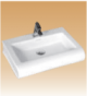 White Table Top Basin - Baldric