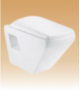 White Wall Hung Closets Series - Bravo - 530x344x360 mm