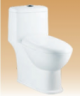 White Single Piece Closets - Sasha - 600x370x710 mm