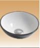 Black/White Art Basin Colored - Limonium - 280x280x100 mm