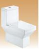 White Single Piece Closets - Scarlet - 670x370x730 mm